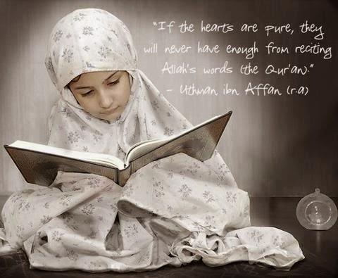 gambar anak kecil membaca alqur'an